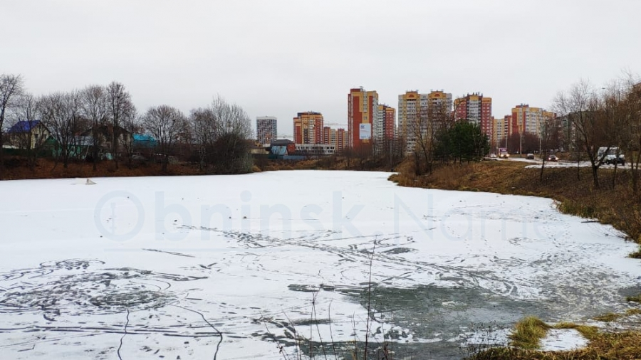 В Обнинске опасно выходить на лед