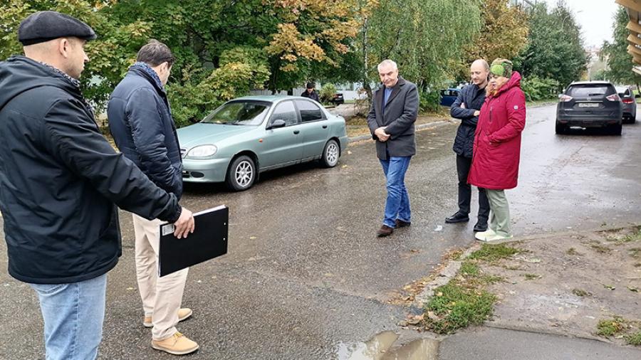 В Обнинске все еще не приняли последнюю дорогу по нацпроекту