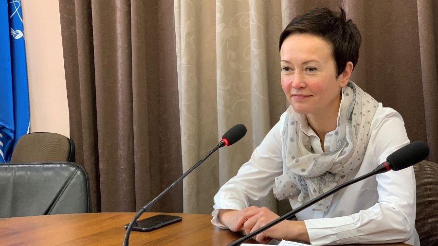 Карина Башкатова провела свой первый брифинг в должности обнинского мэра