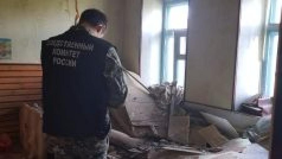 Следственный комитет проверит, почему в Боровске в квартире обрушился потолок