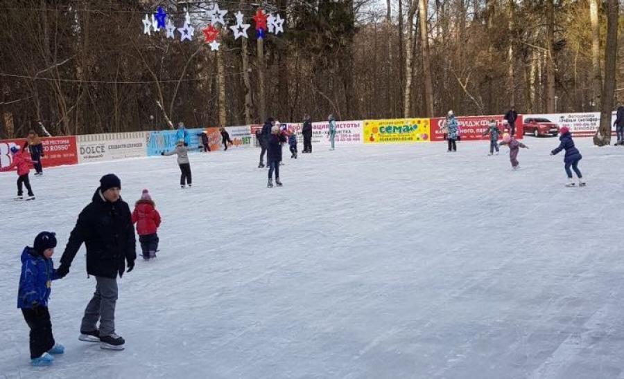 каток в Обнинске катки Обнинска покататься на коньках в