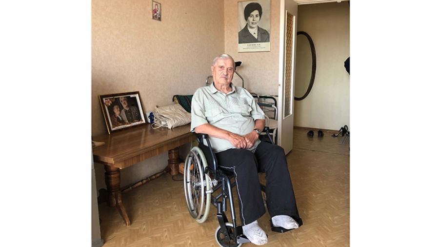 Ветеран ВОВ Василий Алексеевич Ефимов выстоял под Сталинградом. А перед чиновниками — нет