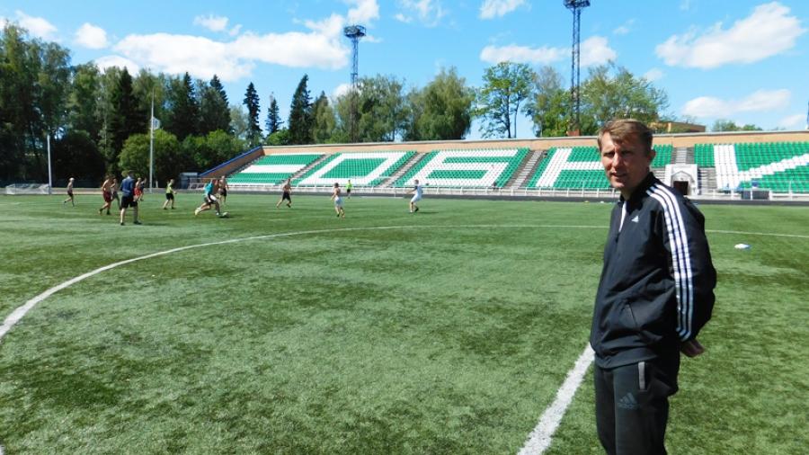 На обнинском стадионе заменят поле
