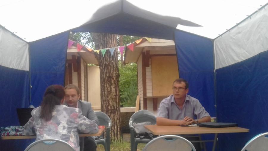 В обнинском Городском парке прошла бесплатная юридическая консультация