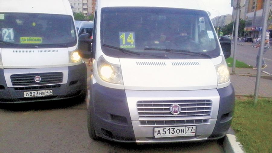 Обнинцы возмущены боями маршруточников за пассажиров