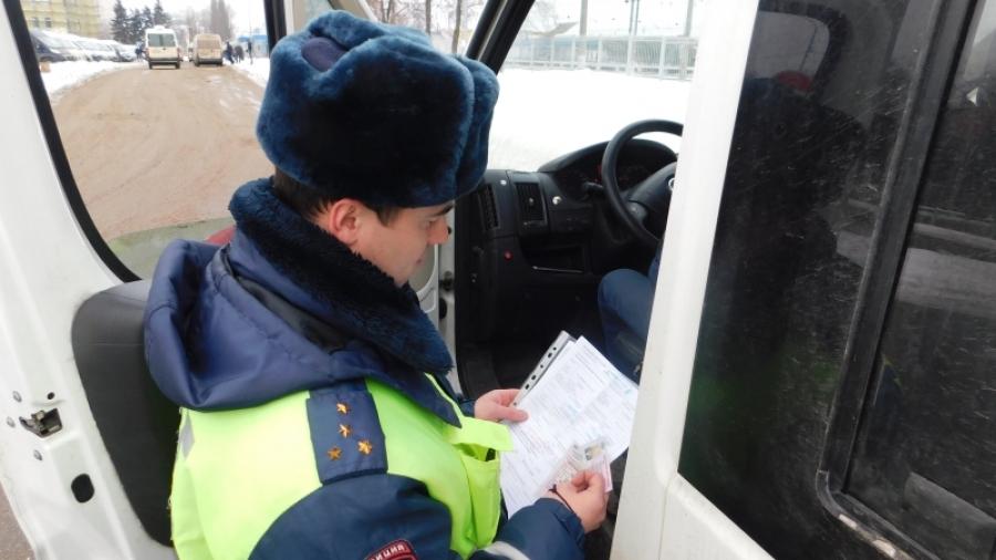 Обнинские полицейские проверили маршрутки