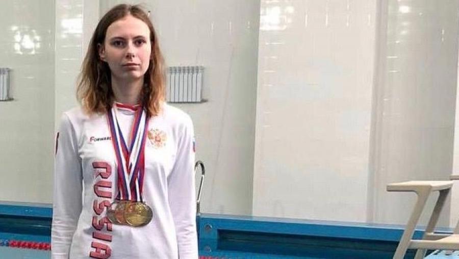 Елена Коржавина взяла 4 медали на чемпионате России по плаванию среди лиц с ограниченными возможностями