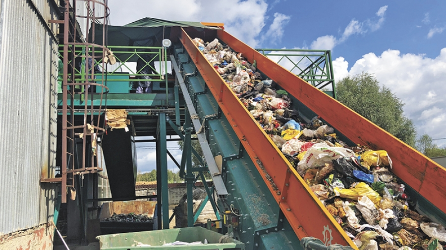 """В """"Спецавтохозяйстве Обнинск"""" запустили мусоросортировочный комплекс"""
