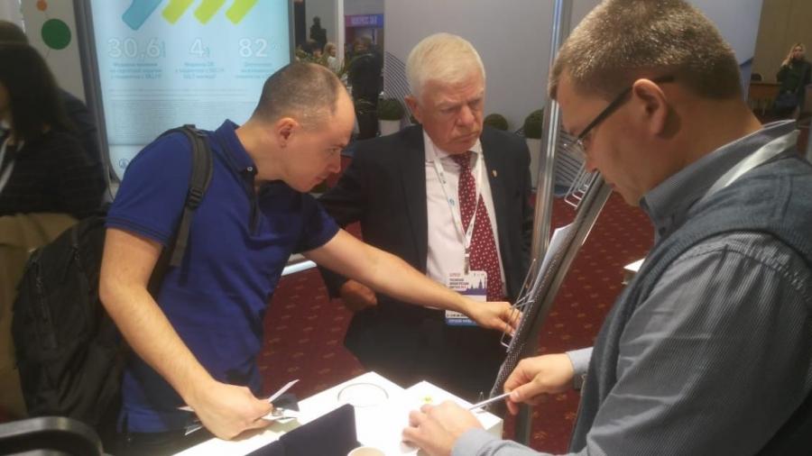 ФЭИ представил свои разработки по ядерной медицине на Российском экологическом конгрессе