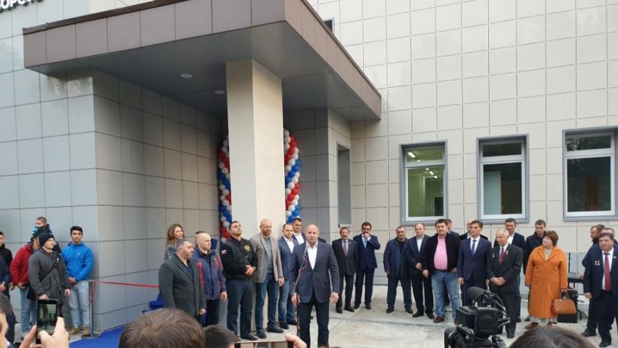 Церемония открытия Академии ММА (Фото А. Шатухина)