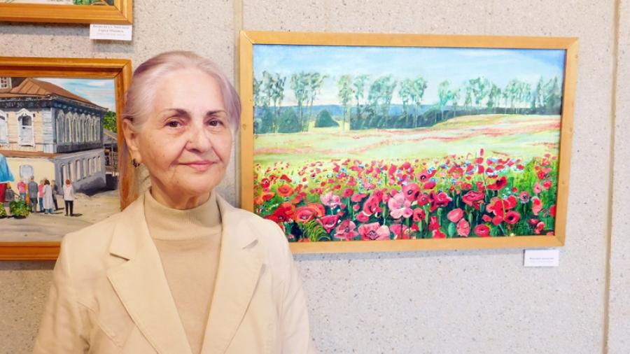 Вобнинском музее проходит персональная выставка Нины Виноградовой