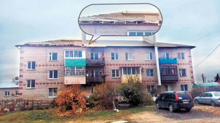 В Жукове жители из-за ремонта в холода остались без крыши
