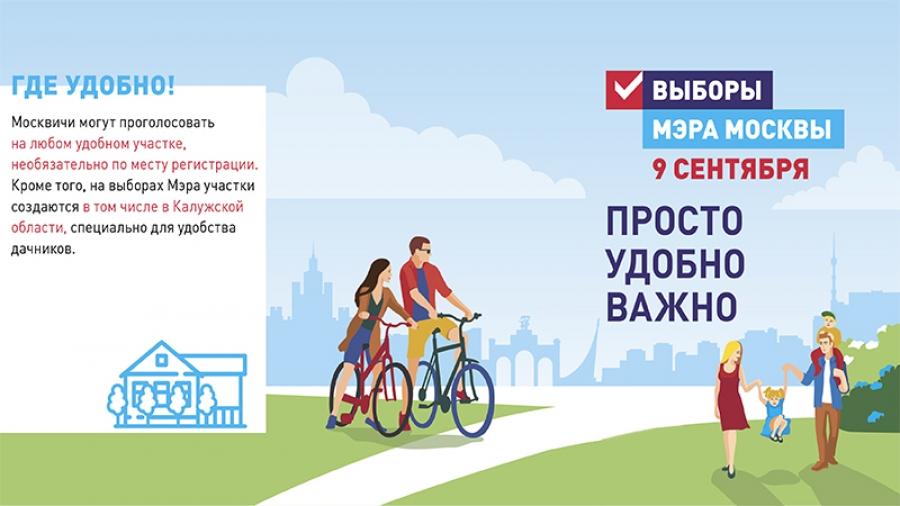 Калужская область помогает организовать голосование для жителей столицы на выборах мэра