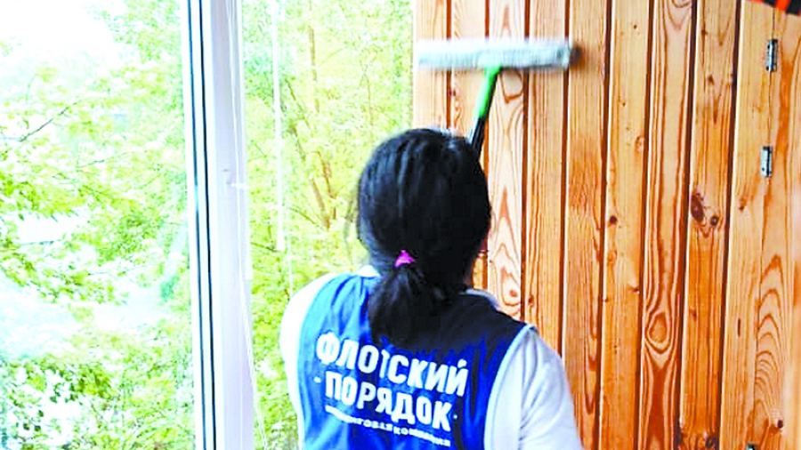 Обнинская клининговая компания делает уборку у ветеранов, пенсионеров и инвалидов