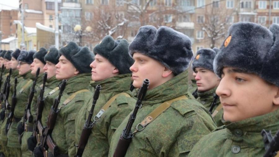 Росгвардейцы-новобранцы Калужской области приняли присягу