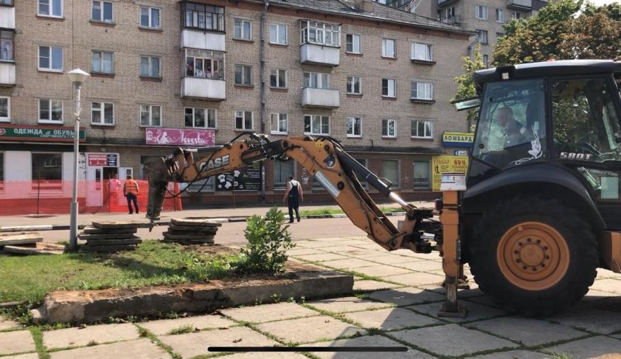 В Обнинске приступили к реконструкции улицы Лейпунского