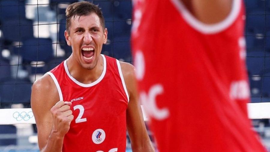 Стояновский и Красильников вышли в финал олимпийского турнира по пляжному волейболу!