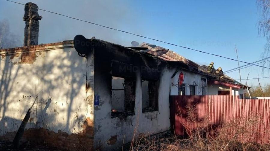 В Боровском районе при пожаре погибла женщина