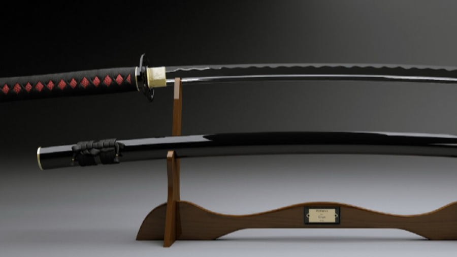 В Боровском районе гастарбайтеры украли японский меч