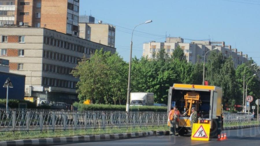 В Обнинске активно идет ремонт дорог