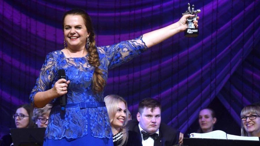 Триумф: после победы в шоу «Голос 60+» Лидию Музалеву ждал очень теплый прием в Обнинске