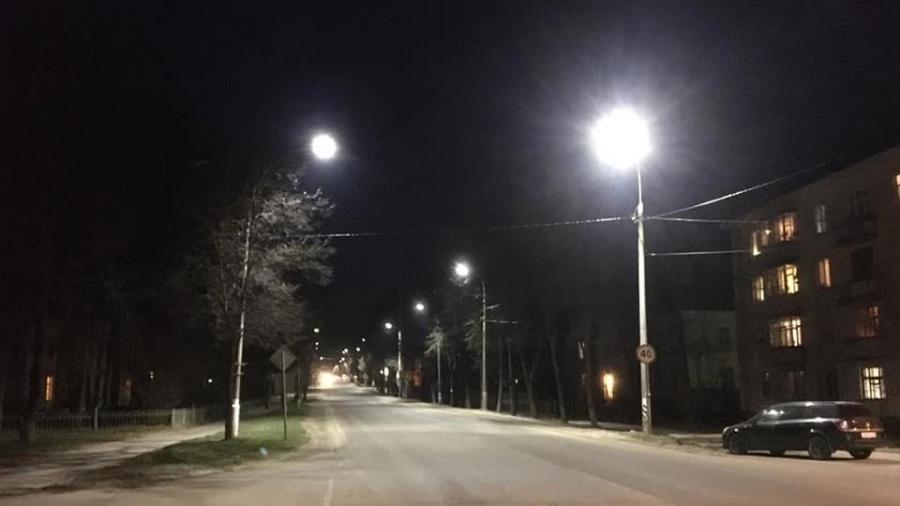 Старый город стал светлее