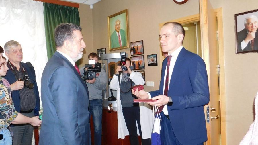 Посол Сербии Славенко Терзич посетил МРНЦ