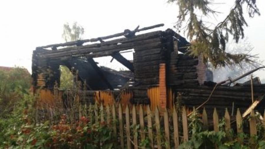 Под Обнинском при пожаре погиб мужчина