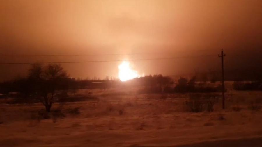 ВПодмосковье зажегся газопровод: отключены 13 населенных пунктов | Регионы