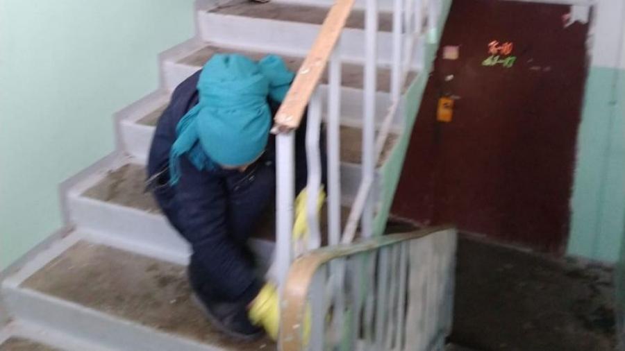 От управляющих компаний в Калужской области потребовали ежедневно убирать и дезинфицировать подъезды
