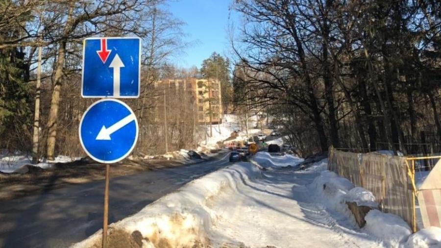 На Пионерском проезде в Обнинске появился светофор