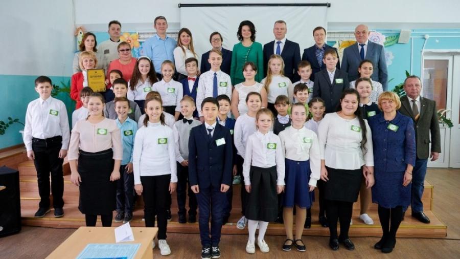 В Ворсино Боровского района открыли экологический класс