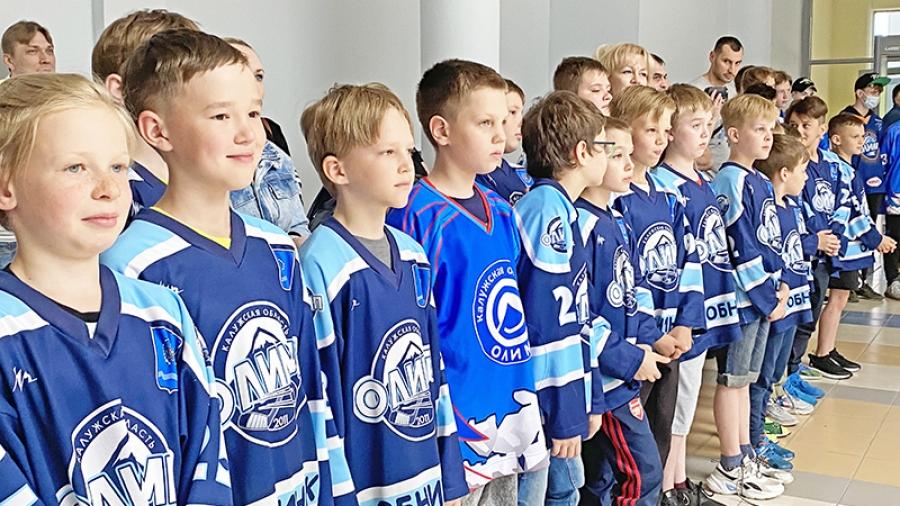 Горячий лед. В «Олимпе» подвели итоги хоккейного сезона.