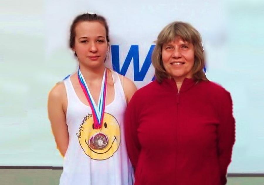 Обнинская пловчиха Надежда Беднякова стала третьей на чемпионате России
