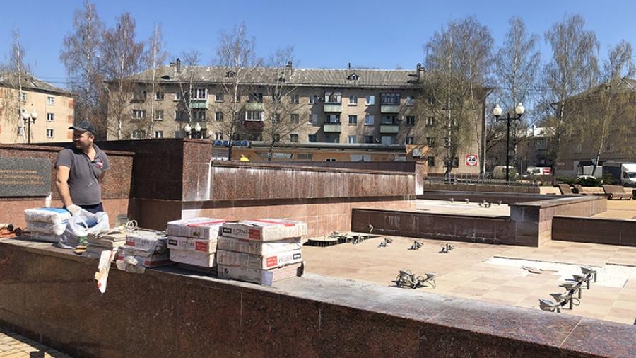 Обнинские фонтаны запустят 1 мая