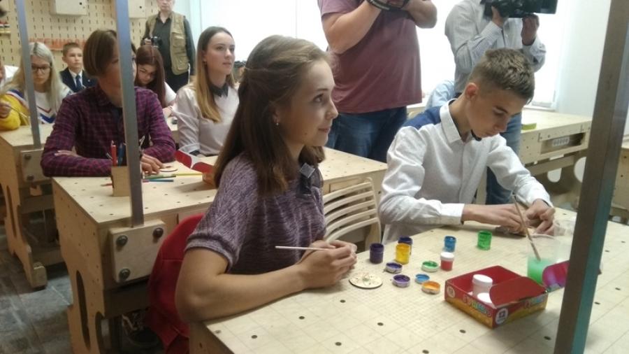 В Обнинск приехали школьники из белорусского Островца