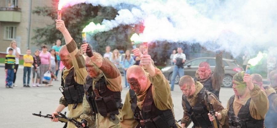 Личный состав в/ч 3382 проведет в Обнинске показательные выступления