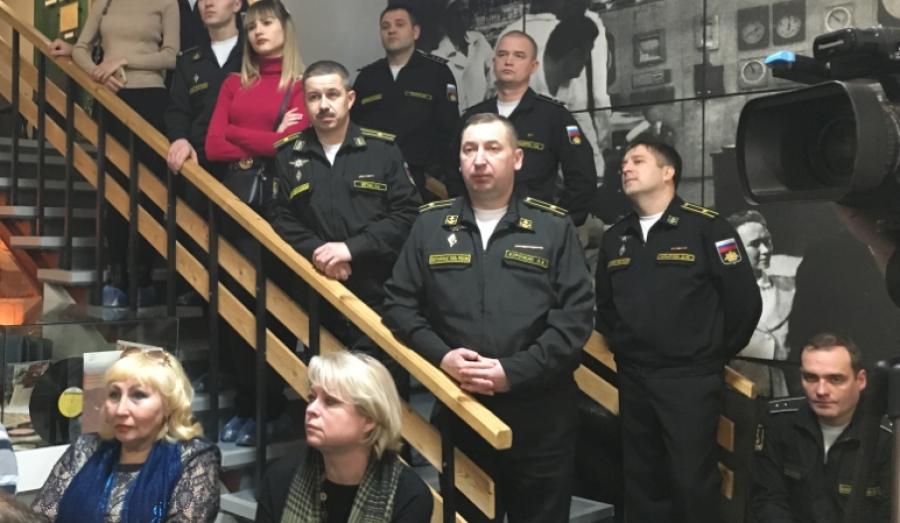 Обнинские подводники оценили выставку о становлении атомного флота