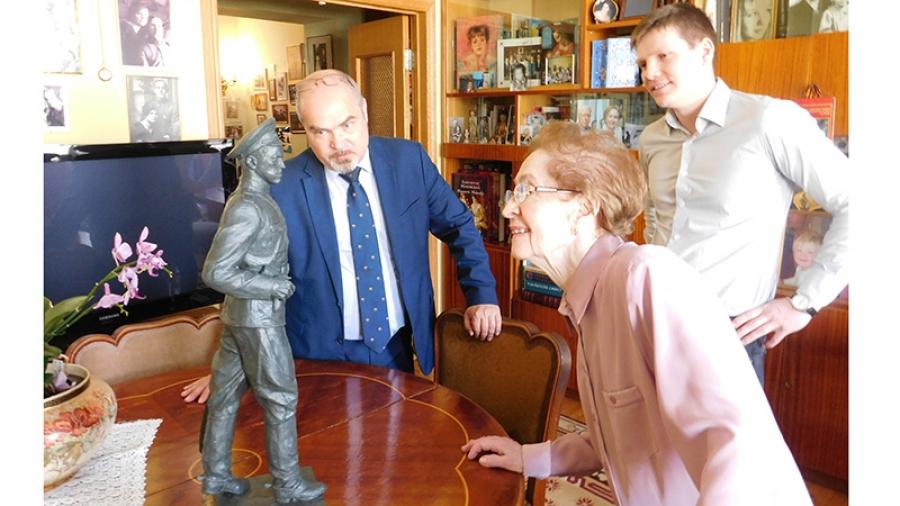 Старшая дочь Георгия Жукова одобрила модель памятника своему отцу, который собираются установить в Обнинске