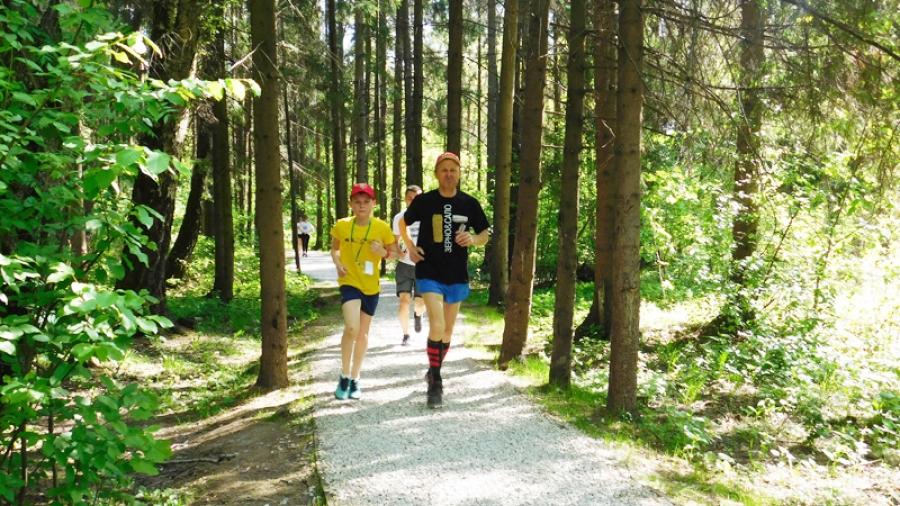 В Обнинске прошел первый забег движения Parkrun