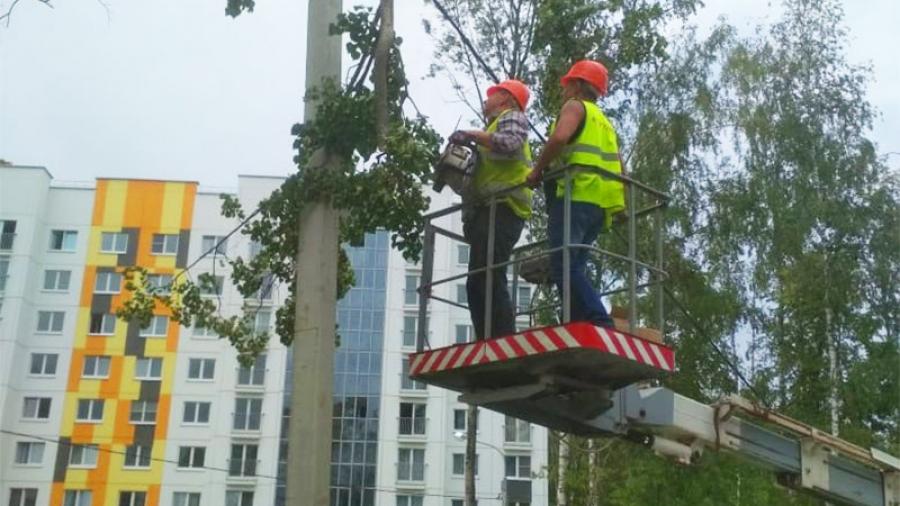 «Горэлектросети» продолжит работу по освещению темных уголков в Обнинске