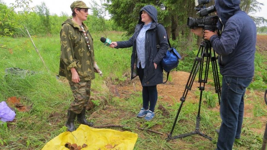 В день 77-й годовщины начала войны на окраине Ильинского найдены останки четырех воинов РККА