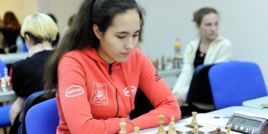 Анна Афонасьева выступила на чемпионате страны по блицу и быстрым шахматам по силам
