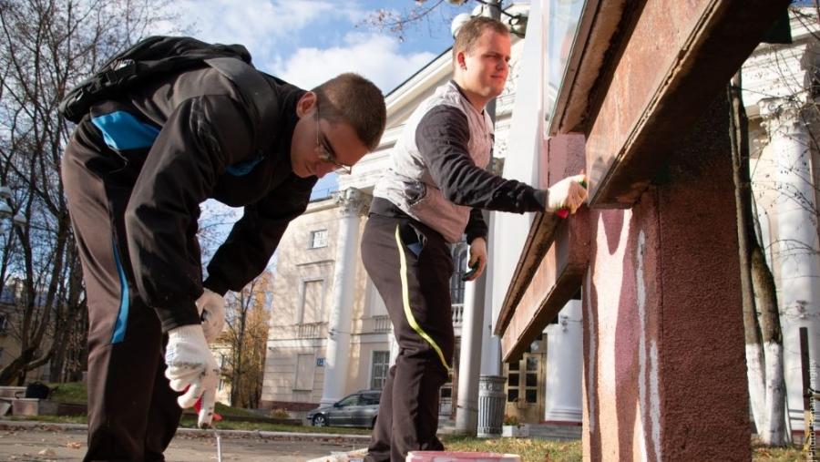 За неделю в Обнинске убрали листву на почти 16-ти тысячах квадратных метров