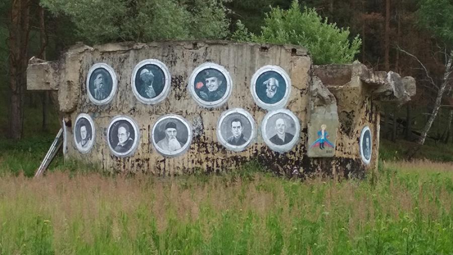 На окраине Боровска приземлился «звездолет»