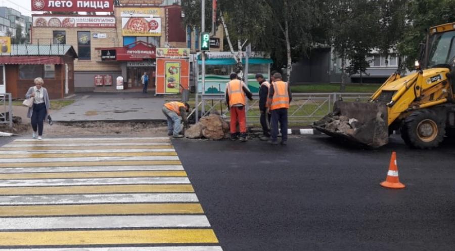 Дорожные работы в Обнинске практически завершены