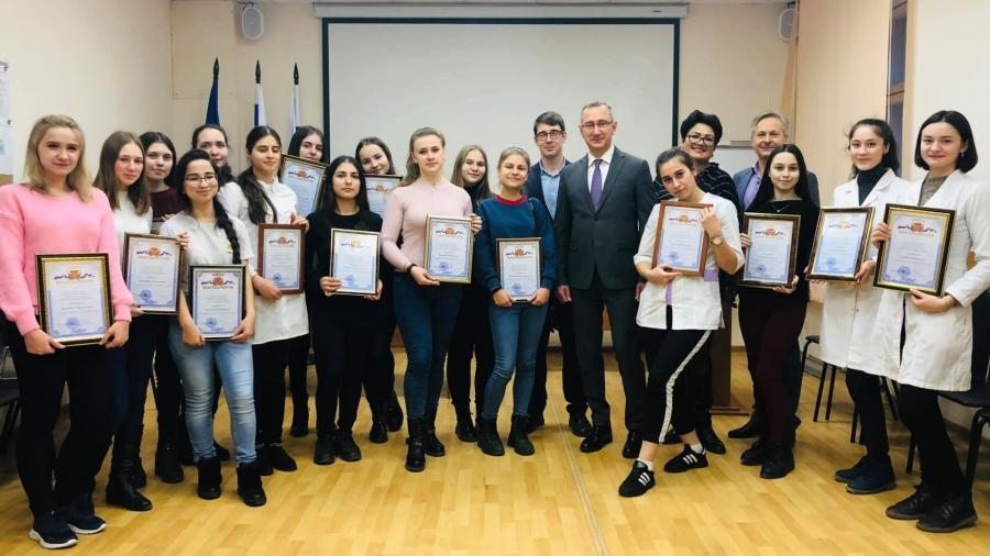 Обнинских студентов-медиков поблагодарили за помощь в проведении диспансеризации