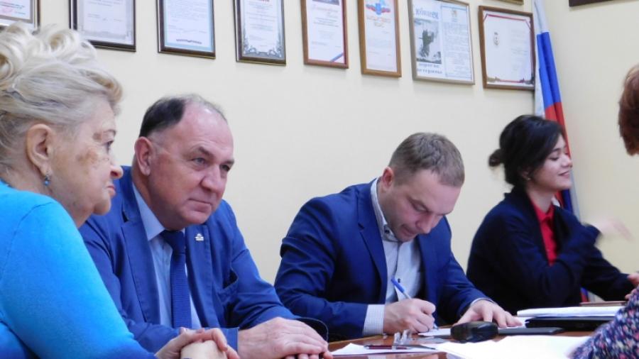 Уполномоченный по правам человека Юрий Зельников провел прием в Обнинске