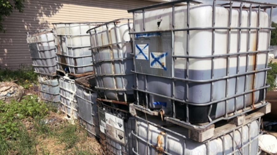 Под Обнинском обнаружен нелегальный мусороперерабатывающий завод
