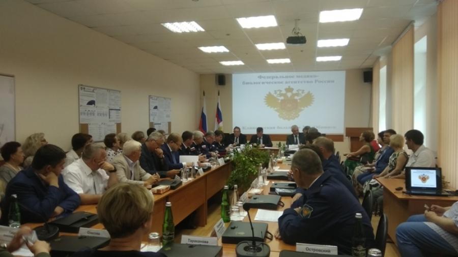 Обнинск посетил глава ФМБА Владимир Уйба